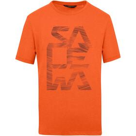 SALEWA Salewa Print Dry T-shirt Herrer, orange